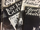 Just Jazz Guitar Magazine, Individual Issues up to 2001