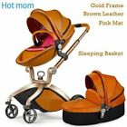 Luxury Baby Stroller High Land-Scape Baby Stroller 3 in 1 Fashion Pram European