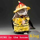 Golden King Empire Cosplay Pet Costumes