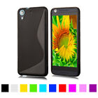 S line Shockproof Rubber Soft Case Cover For HTC Desire 526 626 826 828 M9 M10