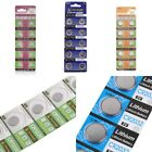 AG6/10/13 CR1220 CR2032 Lots Button Cell Coin Battery for Watch Toys Remote New