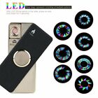 Electric Lighter USB Charge Lighter Matte Surface Hand Spinner With Light di