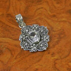 Crystal Cut 925 Solid Sterling Silver Hot Designer Pendnat 5.96g SJP0288 L-1.60""