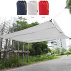 4.5*5m Sun Shade Sail Sunscreen Rectangle Awning Canopy Outdoor Garden Patio