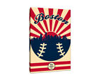 Boston Red Sox Vintage Baseball Canvas on Ebay