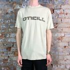 O'neill Basic Casual Short Sleeve T-Shirt New - Cream - Size: M