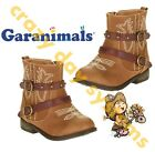 Garanimals Brown Cowgirl Cowboy Faux Leather Boots Size 4T - 6T  Toddler Girls
