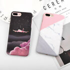 Cool Printed Frosted Hard Slim Shockproof Phone Case for iPh