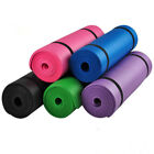 15MM Non Slip Yoga Mat Exercise Workout Fitness Physio Pilates Gym Cushion Thick