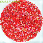 10000pcs SS10 Flowers Non Hotfix Crystal Resin Acrylic Rhinestones Loose Beads