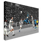 Ronaldo Goal Amazing  Canvas Art Crafted In London - Quality Assured