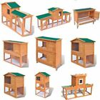 Wooden Chicken Coop Hen House Rabbit Hutch Poultry Wood Cage Pet Animal House