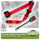 Front Automatic Seat Belt For Hillman Super Minx Convertible 1961-1964 Red