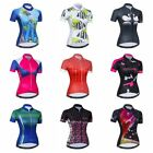 Women Cycling Jersey 2018 New Summer Bike Short Sleeve Bicycle Clothing Tops