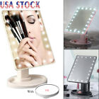 22LED Light Makeup Mirror TouchScreen With 10X Magnification Vanity Mirror Free
