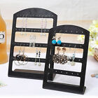 jewelry stand organizer - 1X Earrings Ear Studs Display Rack Stand Jewelry Organizer Holder 24/48 HolBLJC