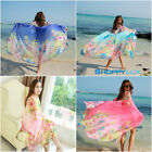 New Oversized Chiffon Scarf Summer Large Shawl Wrap Long Thin Women Silk Scarves