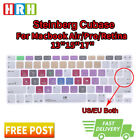 Function hot keys Shortcuts Silicone Keyboard Cover Skin For Mac Air Pro Retina
