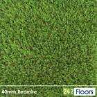Realistic Artificial Grass, Soft Natural Look Garden Lawn, Astro Turf 38mm 2m 4m