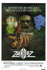 66782 Zardoz Movie Sean Connery harlotte Rampling, Wall Print Poster UK