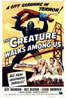 68688 The Creature Walks among Us Movie Jeff Morrow Wall Print Poster UK