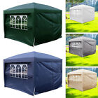 2x2m 2.5x2.5m 3x3m 3x6m Garden Pop Up Gazebo Waterproof Heavy Duty Marquee Tent