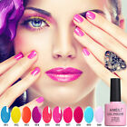 AIMEILI Neon Summer Bright Colors Nail Gel Polish UV LED Soa