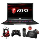 "MSI GE63 Raider RGB 15.6"" 120Hz (3ms) Core i7-8750H GTX 1070 1060 Gaming Laptop"