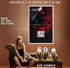 70929 Deep Cover Laurence Fishburne, Jeff Goldblum Wall Print Poster UK