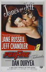 71295 Foxfire Movie Jane Russell, Jeff Chandler Wall Print Poster UK