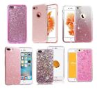 6 Colors/ Bling Silicone Glitter ShockProof Case Cover For Apple iPhone 6s 7 X 8