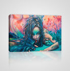 Shot of Surreal Women Acrylic Painting Frame Canvas Print - YC05