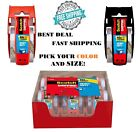 Scotch Heavy Duty Shipping Packing Clear Tape Rolls Dispenser Hold Moving Box US