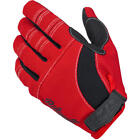 Biltwell Moto Motorcycle Gloves Red Black White Choose Your Size