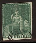 Stamp Muaritius Scott#9 used Light Cancel Fresh Color Scott CV$240