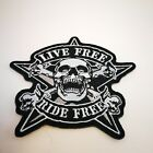 New Music Metal Rock Sew Iron on Embroidered patch for Jacket Applique