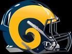 Los Angeles Rams Alternate Future Helmet logo Vinyl Decal / Sticker 5 sizes!! $4.99 USD on eBay