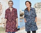 Plus size womans ladies long summer tunic work everyday house top 14 to 34 UK