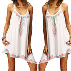 Sexy Women Casual Summer Sleeveless Evening Party Cocktail Club Short Mini Dress