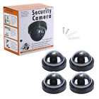 Top Quality Fake Dummy Dome CCTV Security Camera Flashing LED Outdoor New Black