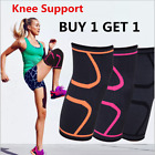Knee Compression Sleeve Support for Running Gym Sports Joint Pain Relief UK