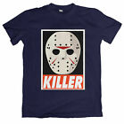 Jason Voorhees Killer Mask Tshirt - Friday The 13th - Voehees Vorhees