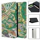 Abstract Geometric Pattern Full Flip Case Cover For Mobile Phone - S5841