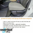 AUTO GRAY CAR PARTS Luxury PU Leather Car Seat Protector Seat 3D Full Surround