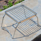 Foldable BBQ Pot Pan Stand Holder Stainless Steel Camping Cooker Grill Rack