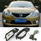 For Nissan TIIDA 2012-2015 LED DRL Daytime Rrunning Lights Car LED Daylight lamp