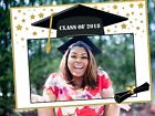 Large Personalized social Graduations Poster photo booth prop frame Class of 201