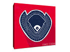 New York Yankees - Yankee Stadium - Seating Map - Gallery Wrapped Canvas