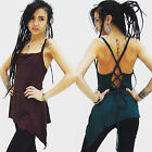 PIXIE TOP long Pixie Vest trance wear Fairy Top Yoga Top backless FREE Post UK