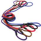 Внешний вид - Pet Dog Nylon Rope Leash Slip Lead Strap Adjustable Traction Collar Training New